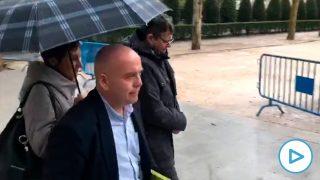 Gonzalo Boye, abogado de Carles Puigdemont y Quim Torra, acude a declarar a la Audiencia Nacional.