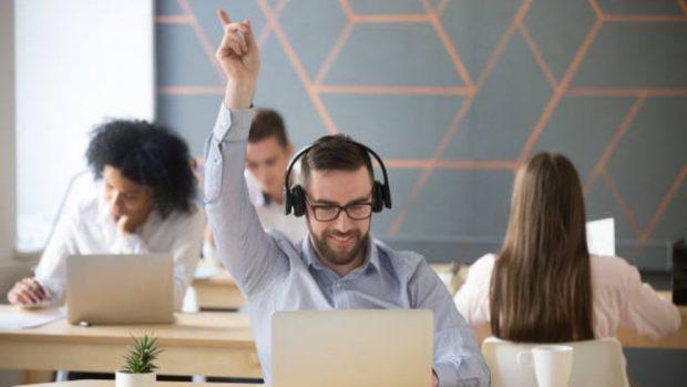 concentrarse espacio de trabajo ruidoso