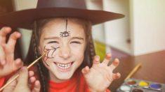 Cómo hacer un maquillaje de Halloween para niños paso a paso
