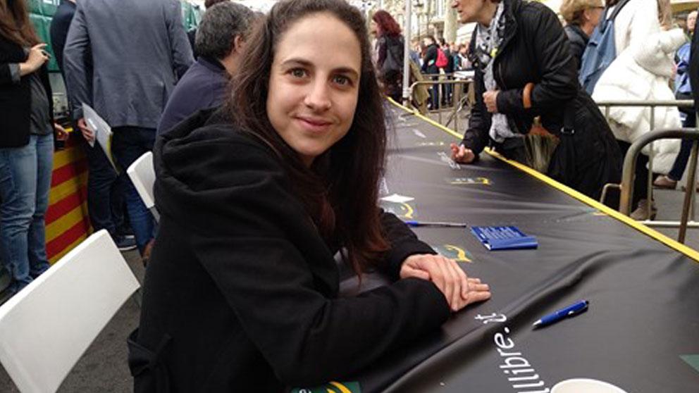 CRistina Morales, la ganadora del Premio Nacional de Narrativa 2019. Foto: EP
