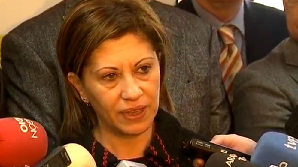 La ex ministra de Medio Ambiente y actual teniente de alcalde del Ayuntamiento de Vigo Elena Espinosa Mangana.