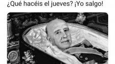 Los mejores memes sobre la exhumación de Franco.