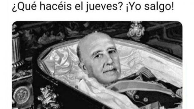 Los mejores memes sobre la exhumación de Franco