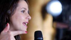 Inés Arrimadas en un acto en Canarias. Foto: EFE