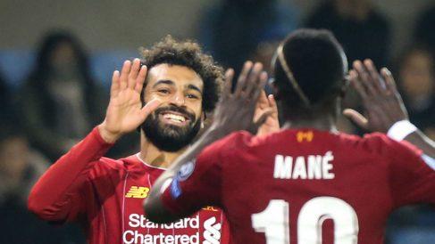 El Liverpool goleó al Genk en la jornada 3 de la Champions League (AFP).