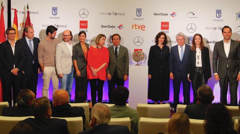 Presentación de los Premios Forqué 2019.