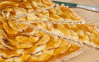Tarta de manzana fácil en microondas