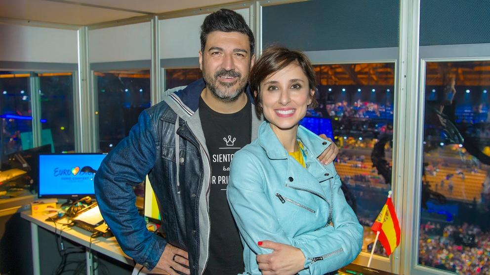 Tony Aguilar y Julia Varela presentarán 'Eurovisión Junior 2019'