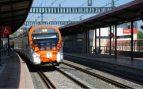Un tren atropella a una persona en L'Hospitalet de Llobregat (Barcelona) debido a la tormenta
