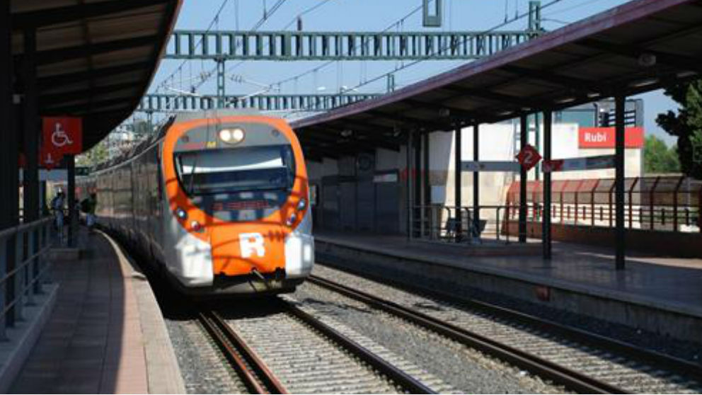 Tren de Rodalies de Cataluña. Foto: Europa Press