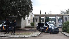 Vista del exterior del cementerio de Mingorrubio, en El Pardo, Madrid. (Foto. EFE:Javier Lizón)