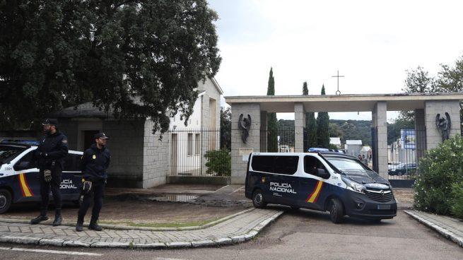 Vista del exterior del cementerio de Mingorrubio, en El Pardo, Madrid. (Foto. EFE:Javier Lizón) francisco franco