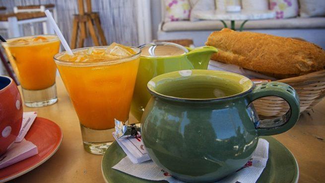 Bebidas frutales llenas de nutrientes