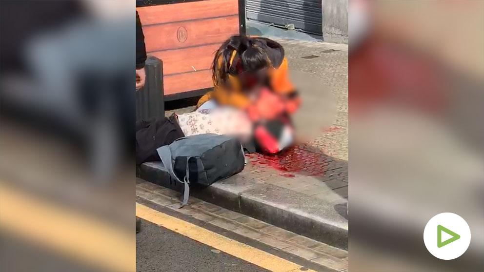 El hombre muerto a tiros en Bilbao.