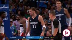 Exhibición de Doncic para abrir la temporada de la NBA.