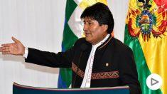 Evo Morales, presidente de Bolivia. (AFP)