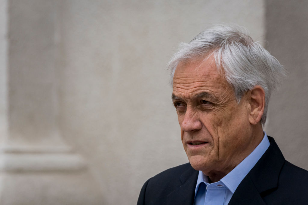 Sebastián Piñera presidente de Chile @Getty
