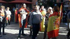 Manifestación en Palma en apoyo a las Fuerzas y Cuerpos de la Seguridad del Estado. (Ep)