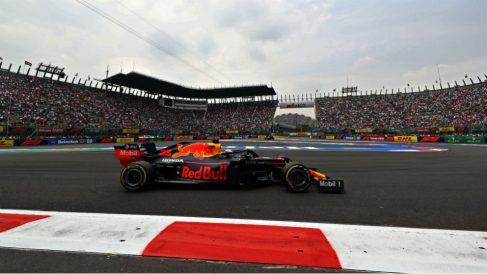 Verstappen logró la pole en el GP de México de Fórmula 1. (Getty)