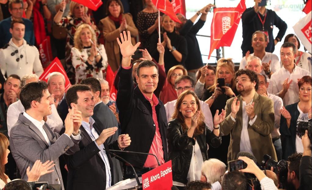 Acto del PSOE este domingo en La Coruña. (Foto. PSOE)