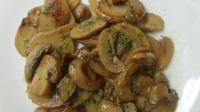 Receta De Champiñones En Conserva Fritos Con Salsa Provenzal