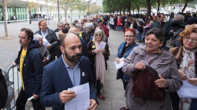 Los separatistas colapsan los juzgados catalanes presentando denuncias