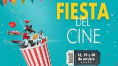 La Fiesta del Cine celebra a partir de este lunes y hasta el miércoles 30 de octubre su 17 edición con entradas a 2,90 euros.