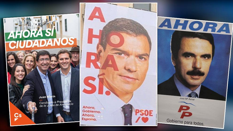 Sánchez recupera el lema de Aznar