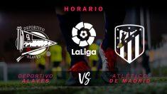 Liga Santander 2019-2020: Alavés – Atlético   Horario del partido de fútbol de Liga Santander.
