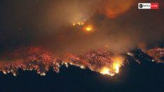 LeBron James, evacuado por los incendios en Los Ángeles.
