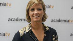 La periodista María Casado, junto a Vicente Vallés, serán los encargados de moderar el debate electoral a cinco organizado por la Academia de Televisión. Foto: EP