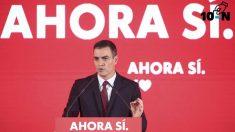 Pedro Sánchez en la campaña del 10-N de 2019