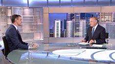 Pedro Sánchez en Telecinco.