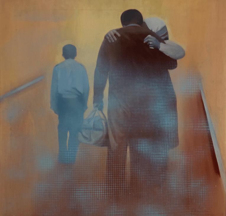 Despedida, 1976. Colección Mercedes Navarro Latorre