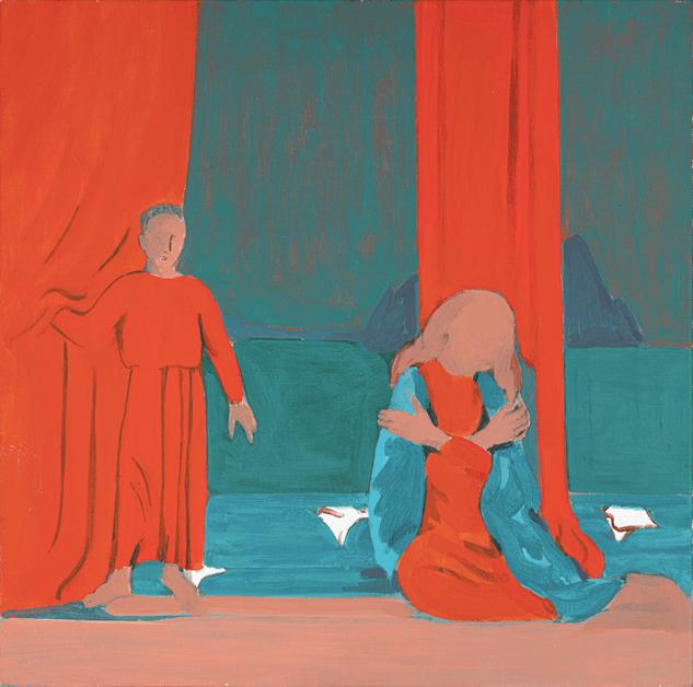 Anunciación, 1995. Colección particular