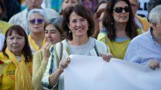Elisenda Paluzie, presidenta de la asociación independentista ANC. Foto: EP