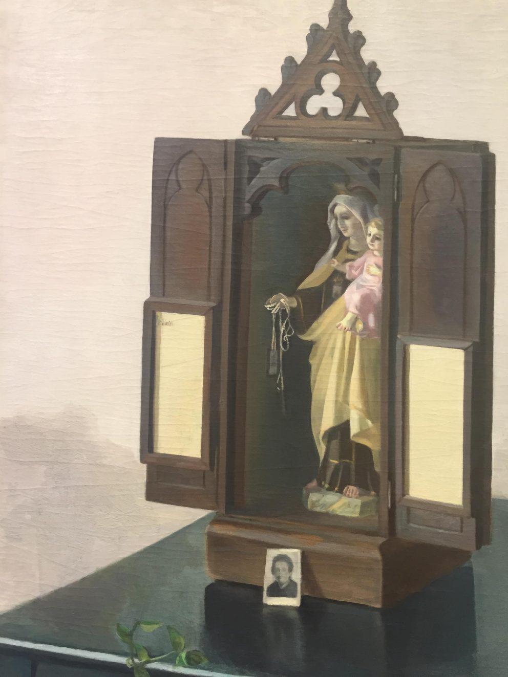 Capilla domiciliaria, 1950. Colección Herederas de Isabel Baquedano