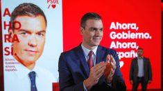 El presidente del gobierno en funciones y candidato a la reelección por el PSOE, Pedro Sánchez presenta la campaña del partido socialista para las elecciones del próximo 10 de noviembre. (Foto: Efe)