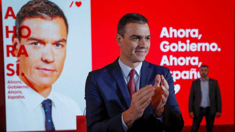 El presidente del Gobierno en funciones y candidato a la reelección por el PSOE, Pedro Sánchez. Foto: EFE