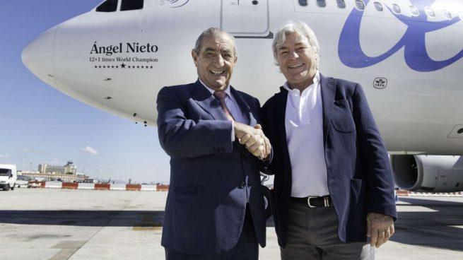 Air Europa colabora con la Fundación Ángel Nieto para difundir el legado del campeón