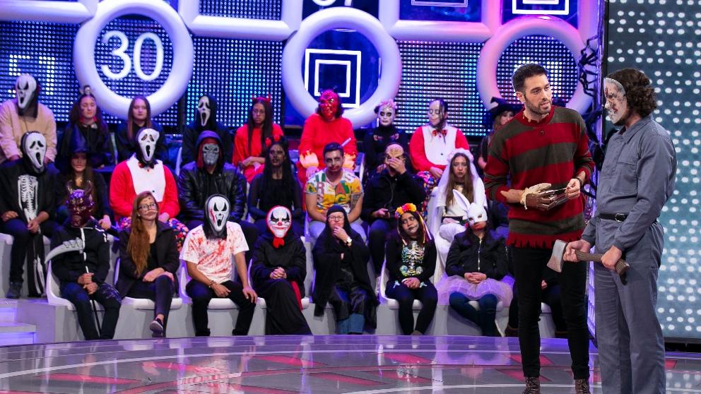 Dani Martínez en el especial Halloween
