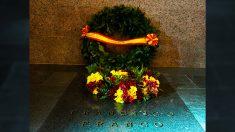 Cripta del cementerio de Mingorrubio donde Franco fue inhumado.