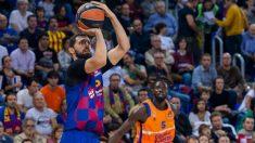 Mirotic durante el partido de Euroliga ante el Valencia Basket. (fcbarcelona.cat)