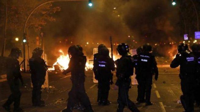 mossos y policia