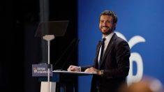 El líder del Partido Popular y candidato a la Presidencia del Gobierno, Pablo Casado. Foto: EFE
