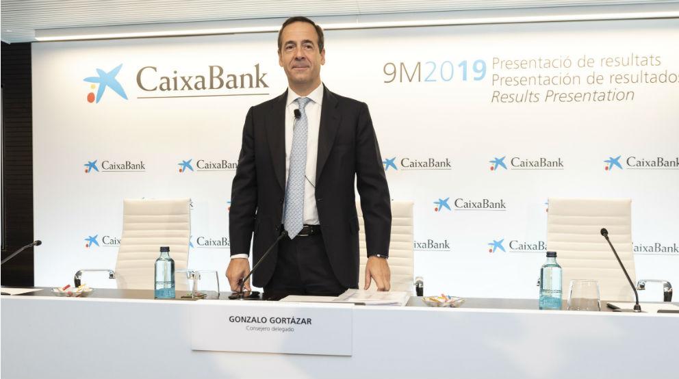 Gonzalo Gortázar, CEO de Caixabank.