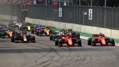 Foto de archivo del Gran Premio de México.