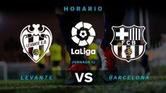 Liga Santander 2019-2020: Levante – Barcelona   Horario del partido de fútbol de Liga Santander.