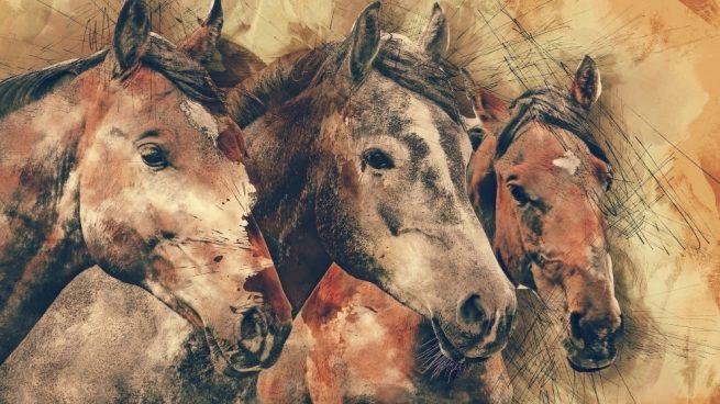Animales en cuadros famosos
