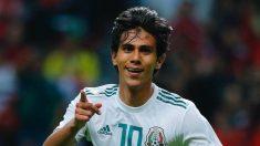 Juan José Macías con la selección de México (@Clubleonfc)